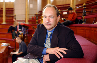 Tim Berners-Lee by Knight Foundation